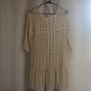 Crochet tunic/cover up